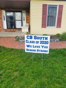 Senior Strong Lawn Signs - BucksMont PA
